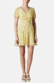 Topshop and39Annabeland39 Gingham Floral Print Dress at Nordstrom