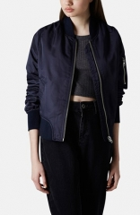 Topshop and39Borisand39 Bomber Jacket at Nordstrom
