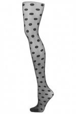 Topshop polka dot tights at Topshop