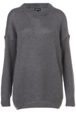 Topsshop chain sweater worn on the carrie diarie at Topshop