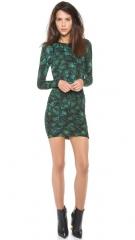 Torn by Ronny Kobo Tara Pleated Dress at Shopbop