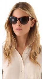 Tortoiseshell sunglasses by Stella McCartney at Shopbop