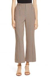 Tory Burch Plaid Bootcut Pants   Nordstrom at Nordstrom