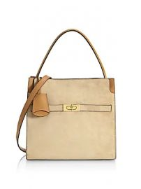 Tory Burch - Small Lee Radziwill Leather Satchel at Saks Fifth Avenue