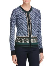 Tory Burch Amble Floral Wool Cardigan - 100  Bloomingdale  039 s Exclusive at Bloomingdales
