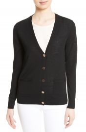 Tory Burch Madeline Merino Wool Cardigan at Nordstrom