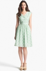Tory Burch Nico Cotton Fit andamp Flare Dress at Nordstrom