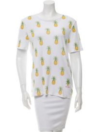 Tory Burch Pineapple Tee at The Real Real