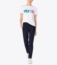 Tory Burch Vote T-shirt at Tory Burch