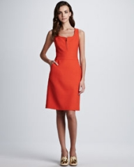 Tory Burch Zachary Sleeveless Pocket Dress at Neiman Marcus