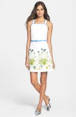 Tory Burch and39Emiliaand39 Print Ottoman A-Line Dress at Nordstrom