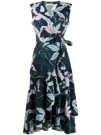 Tory Burch floral-print Wrap Dress - Farfetch at Farfetch