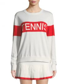 Tory Sport Performance Cashmere Tennis Sweater at Neiman Marcus