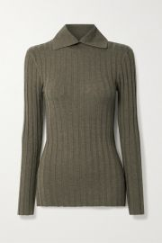 Tot  me - Aviles ribbed wool-blend sweater at Net A Porter