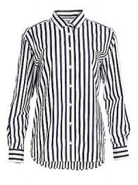 Toteme - Capri Stripe Cotton Shirt at Saks Fifth Avenue