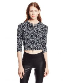 Tracy Reese Rose Cardigan at Amazon