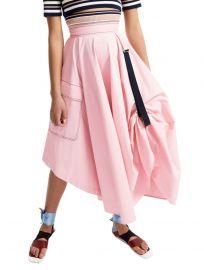 Transforming Satin Maxi Skirt by Sportmax at Sportmax