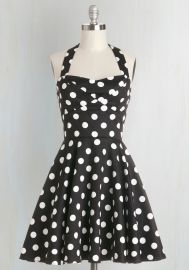Traveling Cupcake Truck Dress in Black at ModCloth