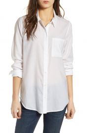Treasure  amp  Bond Drapey Classic Shirt   Nordstrom at Nordstrom