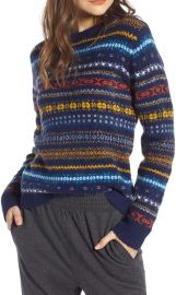 Treasure  amp  Bond Fair Isle Sweater  Nordstrom Exclusive    Nordstrom at Nordstrom