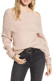 Treasure  amp  Bond Off the Shoulder Pullover   Nordstrom at Nordstrom