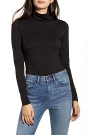 Treasure  amp  Bond Slim Fit Turtleneck Top   Nordstrom at Nordstrom