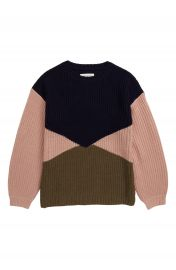 Treasure  amp  Bond Colorblock Sweater  Big Girls    Nordstrom at Nordstrom