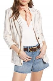 Treasure  amp  Bond Stripe Relaxed Blazer   Nordstrom at Nordstrom