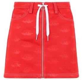 Trefoil Denim Mini Skirt by Adidas x Fiorucci at Asos