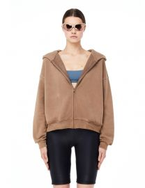 Trench Cropped Zip Hoodie by Yeezy at Farfetch