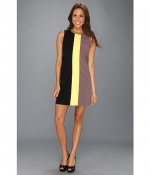 Tri Colorblocked Shift Dress by Vince Camuto at Zappos