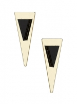 Triangle earrings at Dorothy Perkins at Dorothy Perkins