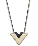 Triangle necklace at Macys at Macys