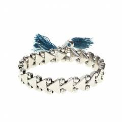Triangle tassel bracelet at J. Crew
