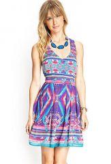 Tribal printed dress at Forever 21