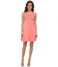 Trina Turk Roxanna Dress Summer Melon at Zappos