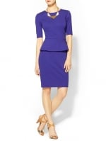 Trina Turk Trophie peplum dress at Piperlime at Piperlime
