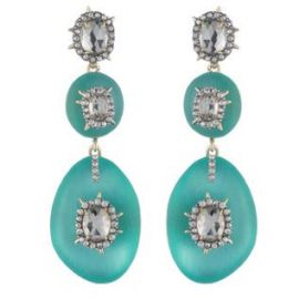 Triple Lucite Drop Earring at Alexis Bittar