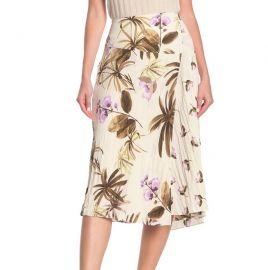 Tropical Garden Midi Skirt by Vince at Nordstrom Rack
