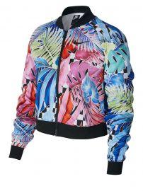 Tropical Printed Zip Front Jacket at Lord and Taylor