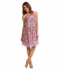 Tropical demi femme dress by Rebecca Taylor at 6pm