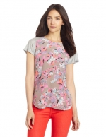 Tropical print tee by Rebecca Taylor at Amazon