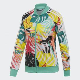 Tropicalage Graphic Trrack Jacket by Addidas at Adidas