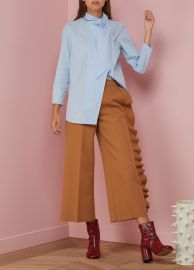 Trouser with Ruffles by MSGM at 24 Sevres