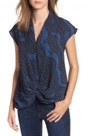 Trouv   Twist Front Knot Top at Nordstrom