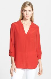 Trouvand233 Silk Blouse in Red at Nordstrom