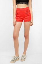 Trudy high rise shorts at Urban Outfitters at Urban Outfitters
