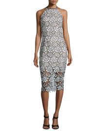 True Love Sleeveless Lace Midi Dress by Keepsake at Neiman Marcus