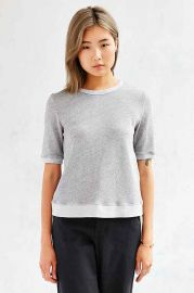 Truly Madly Deeply Arley Sweatshirt Tee at Urban Outfitters