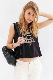 Truly Madly Deeply Mystic Geo Eye Tank Top at Urban Outfitters